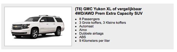Hertz Premium SUV